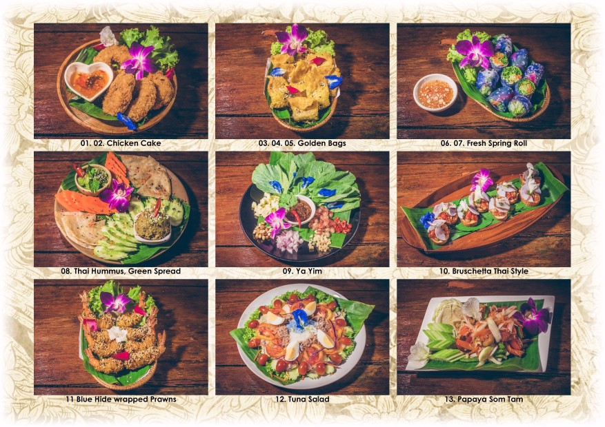 Blue Lagoon Restaurant - Thai Fusion dishes