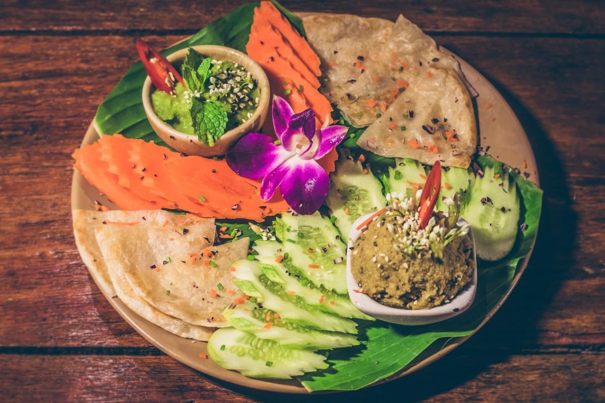 08. Thai Hummus, Green Spread