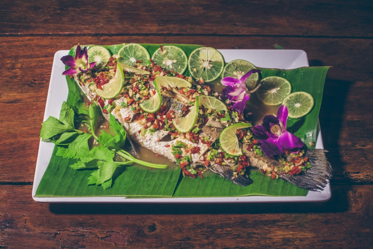 57. Steamed Fish & Lime